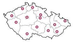 GO! Česko - krajská města