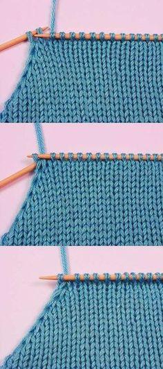 El modo dado de la disminución de los nudos es muy conveniente a vyvyazyvanii del orificio y las sisas del producto. Knitting Basics, Knitting Paterns, Knitting Videos, Knitting Charts, Knit Patterns, Knitting Projects, Crochet Stitches, Baby Knitting, Knit Crochet