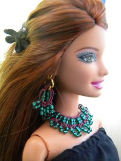 barbie - doll - jewelry