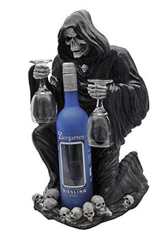 Wine Racks - A Toast for Mortals Grim Reaper Wine Bottle Holder Large *** Check this awesome product by going to the link at the image.