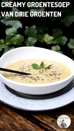 Soup Recipes, Vegetarian Recipes, Healthy Recipes, Lunch Restaurants, Healthy Soup, Starters, Food Hacks, Tapas, Good Food