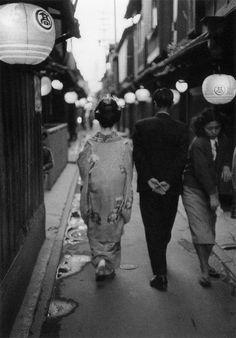 1950年代のデート、京都