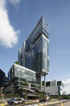 Novena Specialist Center and Oasia Hotel - DP Architects