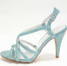 light blue wedding shoes (08) | Comfortable, Ivory, Silver And ...