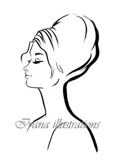 Fashion illustration fashion illustration by IvanaIllustrations