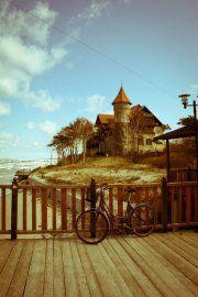 Small town by the sea - Łeba/Poland Danzig, Small Towns, Paris Skyline, Sea, Travel, Poland, Baltic Sea, Viajes, The Ocean