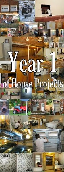 House-versary One Year of House Projects in our first home!
