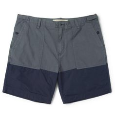 Burberry BritMid-Length Two-Tone Swim Shorts