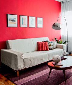 10 jeitos charmosos de decorar o canto do sofá - Casa