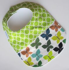 Bibs have to be cute, too -- especially how often babies need to wear them!
