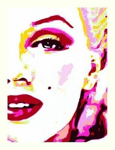 Pop Art:This was a movement in the 1950s that was characterized by using pop culture as the art subjects.