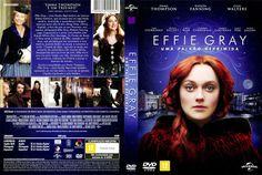 Capa DVD Effie Gray Uma Paixão Reprimida
