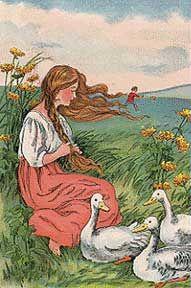 Ella Dolbear Lee. Goose Girl.