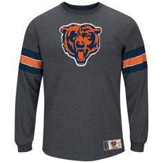 Chicago Bears Team Spotlight III Long Sleeve T-Shirt by Majestic $49.95  #ChicagoBears