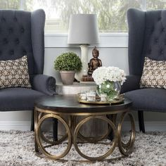 Gemma Wood Round Coffee Table by Kosas Home Cheap Furniture, Furniture Outlet, Online Furniture, Acme Furniture, Outdoor Furniture, Round Wood Coffee Table, Coffee Tables, Sofa End Tables, Living Room Decor