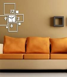 Buy silvear square wall clock wall-clock online