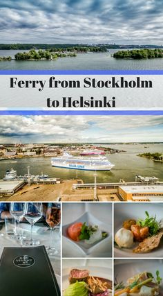 How to get from Stockholm to Helsinki. Taking the Ferry from Stockholm to Helsinki is one of the best ways to get from Stockholm to Helsinki. The ferry boats that run between these two iconic Scandinavian cities are more than your typical ferries, they are like cruise boats. Click to read more at http://www.divergenttravelers.com/taking-the-ferry-from-stockholm-to-helsinki/