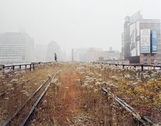 The High Line NYC - Before Construction: Built: 2009 - 2018 (Ongoing)The High Line is an abandoned elevated freight rail line that has been transformed into a public park on Manhattan\'s West Side. It is a 1.45 mile-long elevated, steel structure built in the 1930s for freight trai...