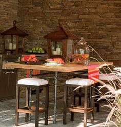Coastal Living Seawatch Idea House < 65 Easy Outdoor Dining Ideas for Every Space - MyHomeIdeas.com