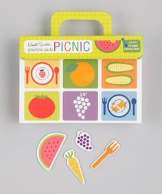 Take a look at this DwellStudio Playtime Party Picnic Set by Random House on #zulily today!
