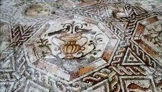 Mosaïque romaine, 300 après J.C. retrouvée en Israël