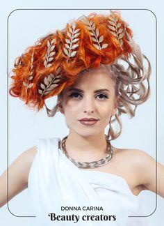 Idei de coafuri si machiaj pentru evenimente speciale #beautycreators #donnacarina Dreadlocks, Hair Styles, Beauty, Fashion, Hair Plait Styles, Moda, Fashion Styles, Hair Makeup, Hairdos