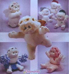Dreamsicles Angel Hugs Dolls Sewing Pattern