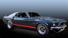 A beautifully edited grey 1969 Mustang Sportsroof wallpaper. Right front view - image. Submit your muscle cars pictures. Ford Mustang 1969, Mustang Cars, Shelby Mustang, Mustang Fastback, Shelby Gt500, Ford Mustang Wallpaper, Ford Sport, Bond Cars, Classic Mustang