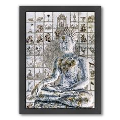 Found it at Wayfair.ca - Meditation Wall by Golie Miamee Framed Graphic Art