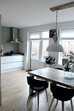 A Home in The Netherlands Vinyl Plank Flooring, Kitchen Flooring, Ultra Modern Homes, Interior Decorating, Interior Design, Home Fashion, Home Kitchens, Modern Kitchens, Home And Living