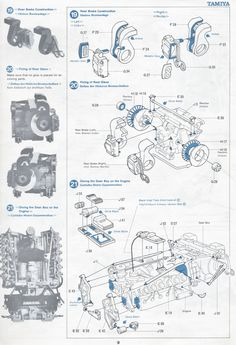 AMC 6Cylinder 4.2L (258ci) Engine Parts for Jeep YJ, CJ's
