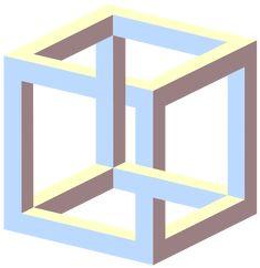 Загадочные объекты и оптические иллюзии, один вид которых заставляет разум вскипать.