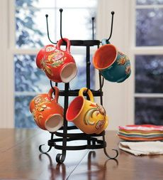 Metal Coffee Mug Tree - Plow & Hearth