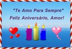 Feliz aniversário amor