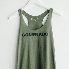 Olive Colorado Tank
