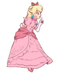The full versions of the artwork used in Peach's Final Smash in Super Smash Bros. Brawl.