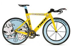 14 of the World's Most Expensive Bikes: #2 Trek Yoshitomo Nara Speed Concept $ 200,000