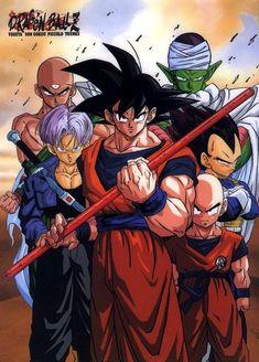 Dragon Ball Z Dragon Ball anime Akira Toriyama Son Goku Kuririn Trunks Mirai Trunks Future Trunks Vegeta Piccolo Tenshinhan Cell Saga Nyoi-Bo - Visit now for 3D Dragon Ball Z compression shirts now on sale! #dragonball #dbz #dragonballsuper