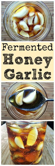 Make this fermented honey garlic for an immune boosting and tasty treat!