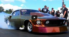 Watch this bad to the bone Pro Street Ford Mustang powered by a Drummond built racing engine flying like a rocket.