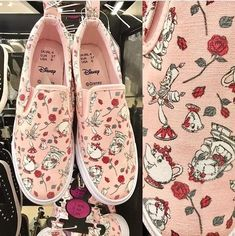 Primark Disney Beauty And The Beast Ladies Trainers Womens Shoes Girls Sneakers  | eBay