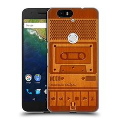 Head Case Designs Tape Recorder Wooden Gadget Hard Back Case for Huawei Nexus 6P >>> You can get more details by clicking on the image. (Note:Amazon affiliate link)