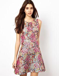 Max C Multi Jacquard Dress