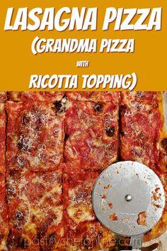 Grandma Pizza Dough Recipe from Perfect Pan Pizza Quick Pasta Recipes, Easy Casserole Recipes, Easy Chicken Recipes, Pizza Recipes, Cheese Recipes, Baking Recipes, Dinner Recipes, Grandma's Pizza, Good Pizza