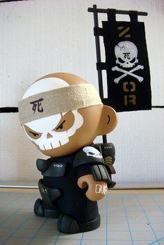 """Colonial Life - UTCMC - ZOR Dread Squad - Sgt Vasquez""   Artist: Huck Gee"