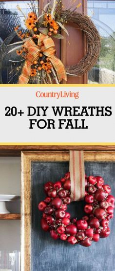 Your front door is about to get a whole lot prettier. Make these DIY fall wreaths to show everyone how excited your are for Autumn.
