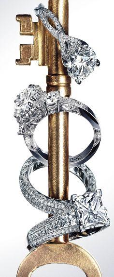 Tacori Engagement Rings ♥✤   Keep the Glamour   BeStayBeautiful