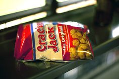 What can be better that Cracker Jack at a baseball game? (April 16, 2012, San Francisco, CA)