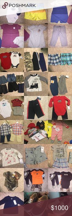 NWT!!!Tons of boy clothes- Various sizes, message me with your offer and what you want and I will create a separate listing for you :) Other
