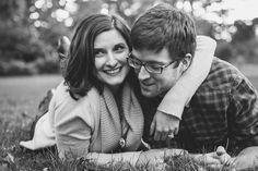 Park Engagement Photos | University of Wisconsin Arboretum | April Violet Photography